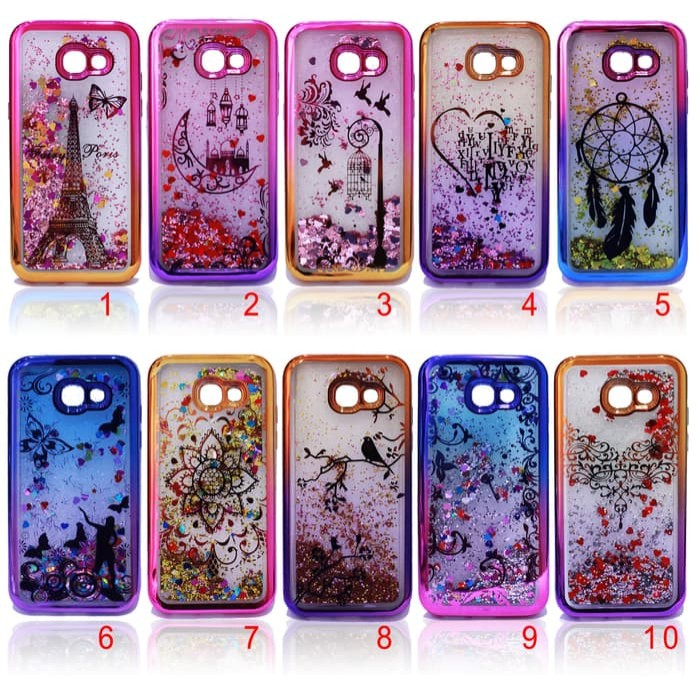 Gradient glitter case air water bling - iphone 5 / 5s / se .