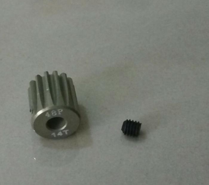 harga Hsp pangolin pinion gear 48p 0.6m 14t 3.17 mm Tokopedia.com