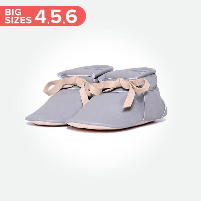 harga Baby chukka boots big - grey (sepatu bayi pyopp) - size 6 Tokopedia.com