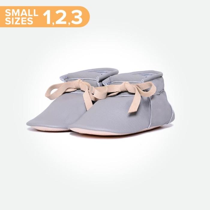 harga Baby chukka boots small - grey (sepatu bayi pyopp) - size 1 Tokopedia.com
