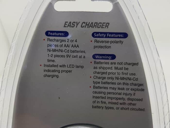promo Charger Baterai Kotak 9V AA AAA Vanson V88A
