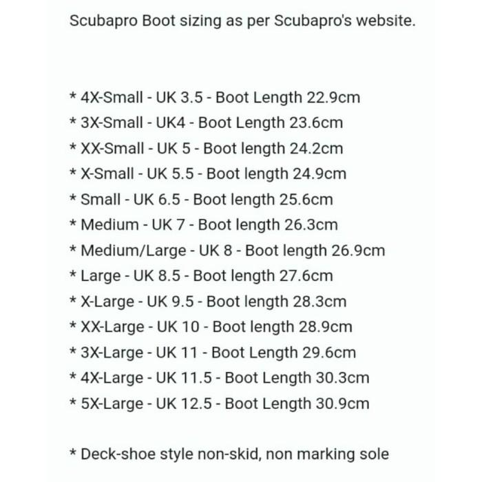 1f644d60e2d7 Jual Scubapro Booties Delta 5 mm Boots - Alat Diving - Sepatu Diving ...