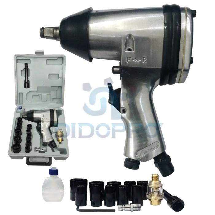 Air impact wrench kit mollar 1/2 /…