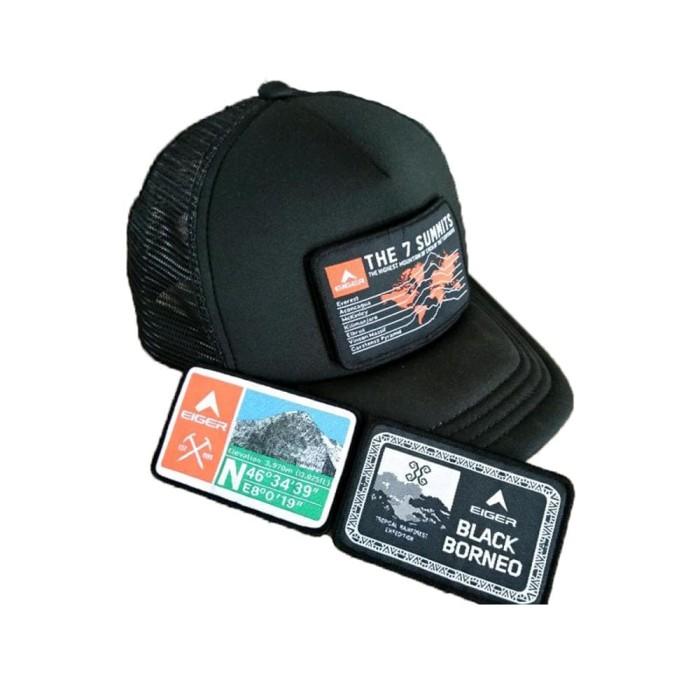 ... harga Topi eiger 910003731 001-002 tactical field cap black - free 3  logo Tokopedia 51b3c344e5