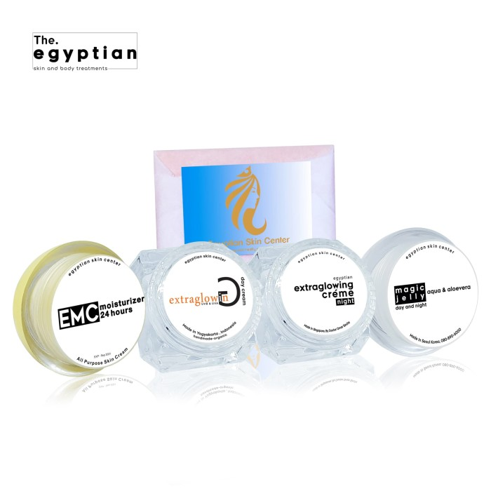 Starter kit magic glowing egyptian skin center