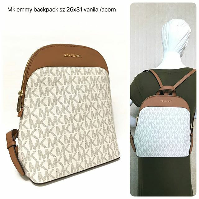 4d0d3a9f8a1661 Jual Tas Michael Kors Original - Mk emmy backpack vanilla accorn ...