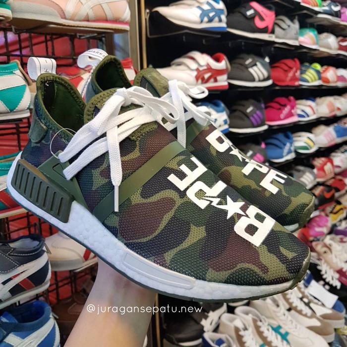 fde210092b3ed Jual Adidas Nmd Human Race Camo x Pharrell x Bape - Kota ...