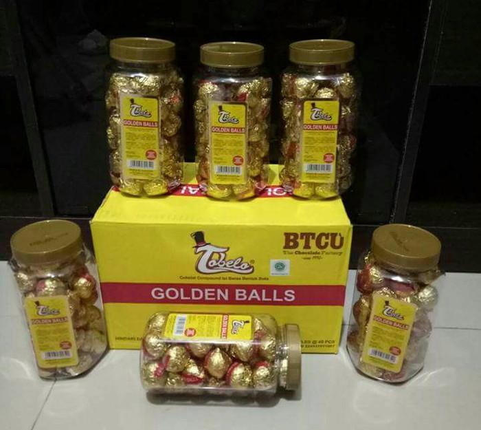 Jual Golden Ball Coklat Tobelo