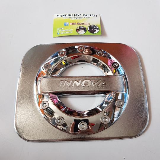 harga Tank cover innova crom(tutup bensin innovavariasi tank innova crom) Tokopedia.com