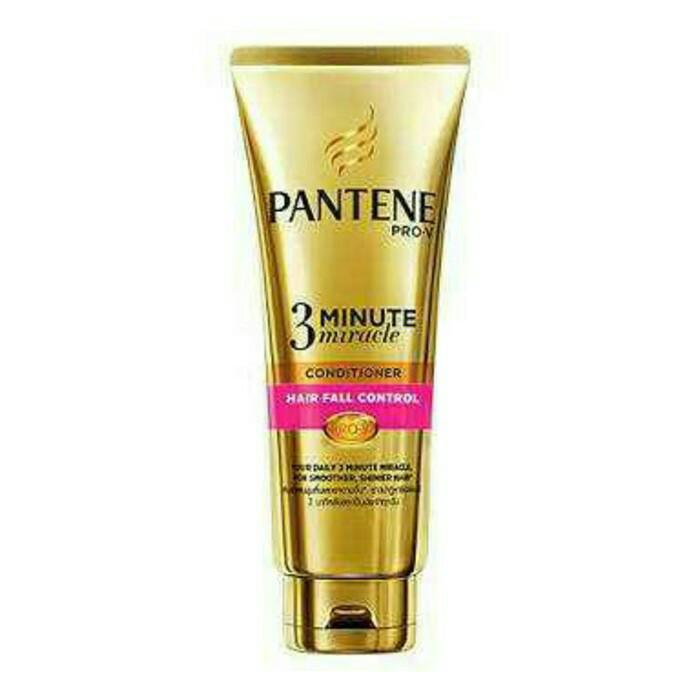 harga Pantene 3 minute miracle conditioner hair fall control 180 ml Tokopedia.com