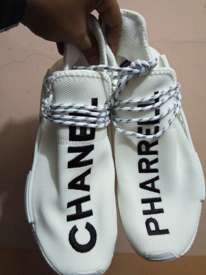 Jual Adidas NMD Human X Chanel Pharrell Williams White Premium Original Jakarta Selatan Tony Sneakers | Tokopedia