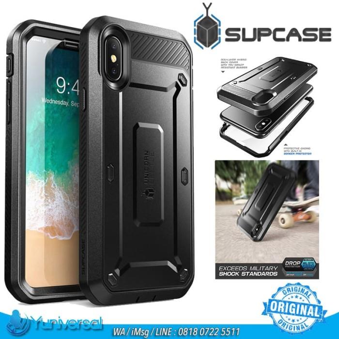 harga Supcase iphone x unicorn beetle pro rugged holster built-in screen ori Tokopedia.com