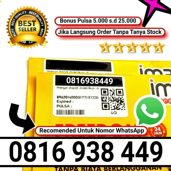 harga Indosat 10 digit nomor cantik im3 4g nomer prabayar non paket internet .