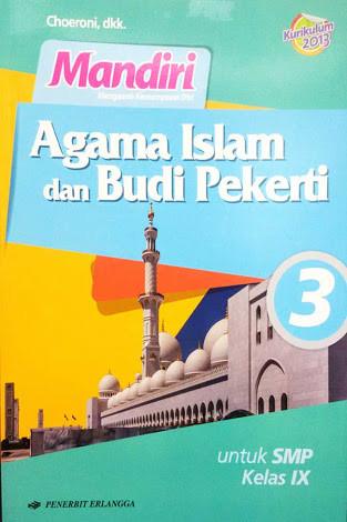 BUKU MANDIRI PENDIDIKAN AGAMA ISLAM SMP KELAS 3 K2013