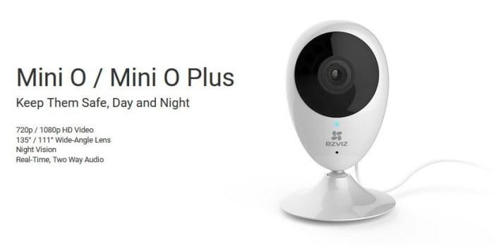 harga Camera wifi ezviz mini o 720p cs-cv206 Tokopedia.com