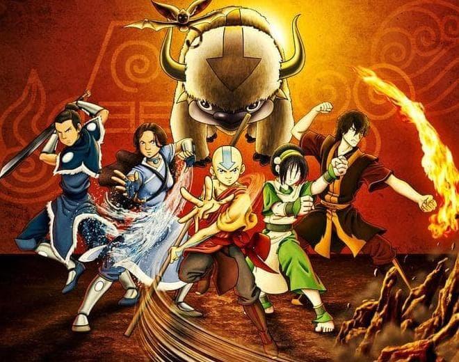 Foto Produk Film Anime Avatar Aang & Avatar Korra lengkap Subtitle Indonesia dari azharstore212