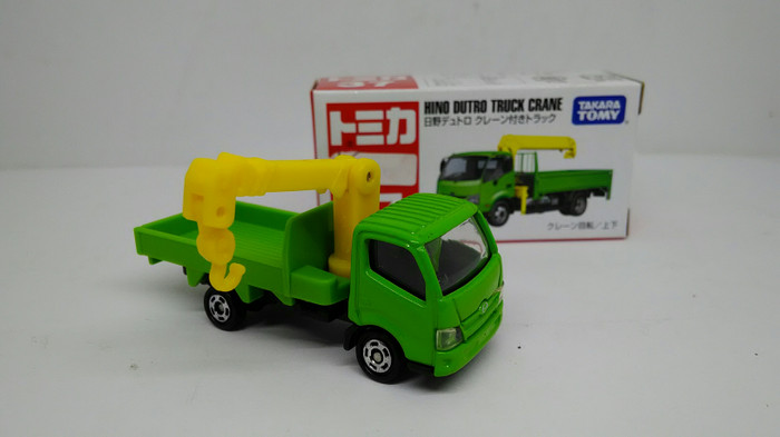 harga Diecast mobil tomica no 37 hino dutro crane truk miniatur truck takara Tokopedia.com