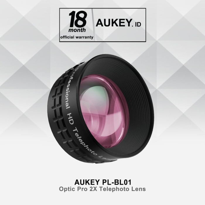 aukey pl-bl01 optic pro 2x telephoto lens