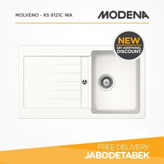 harga Kitchen sink modena molveno - ks 9121c wa Tokopedia.com