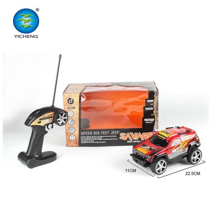 harga Mainan anak - remote control savage speed big feet jeep car mobil rc Tokopedia.com