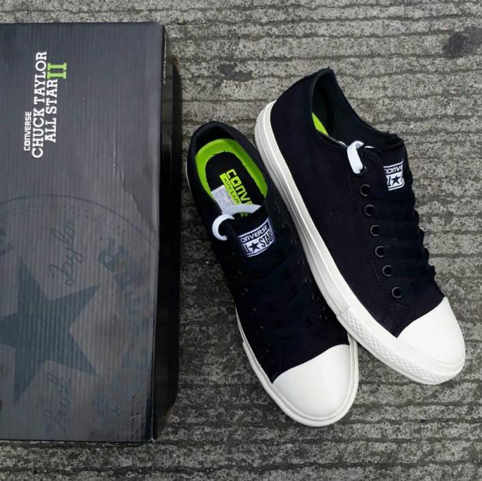 e2fc2768c4a Jual Sepatu Converse All Star Chuck Taylor 2 Black White PREMIUM QUALITY -  Hitam, 38 - Jakarta Selatan - sepatukuori-09 | Tokopedia