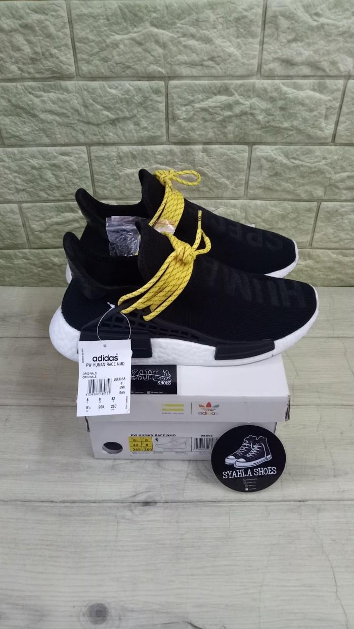 newest 0da66 a2657 Jual ADIDAS NMD HUMAN RACE BLACK WHITE HUMAN SPECIES BEST UA QUALITY PK -  Jakarta Selatan - Syahla Shoes | Tokopedia