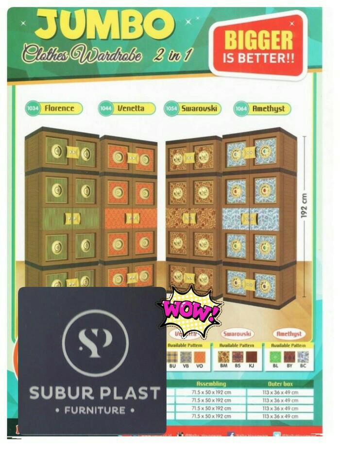 harga Laci / lemari plastik / lemari pakain batik emas gantung super jumbo Tokopedia.com