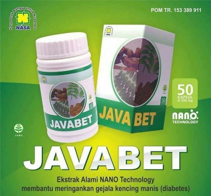 Javabet Obat Herbal Alami Diabetes Nasa / Agen Nasa Bekasi