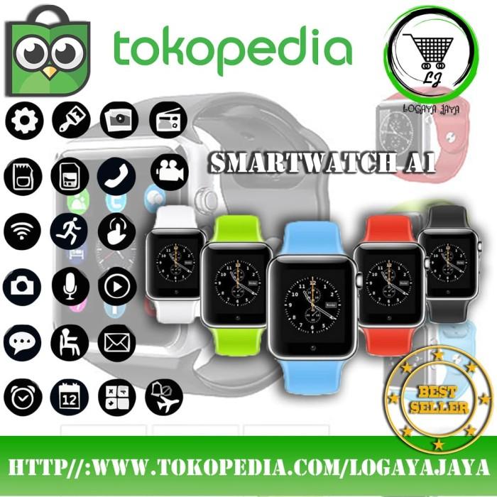 harga Kado unik smartwatch a1 u10 pria keren ultah jam casual branded ori Tokopedia.com