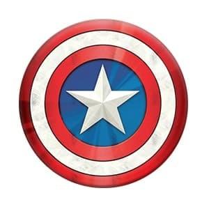 popsockets marvel captain america shield icon black (ps-mr-casi-bk)