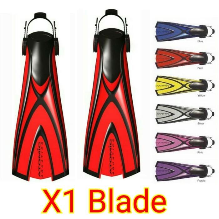 Atomic Fin X1 Blade - Alat Diving - Fin Diving
