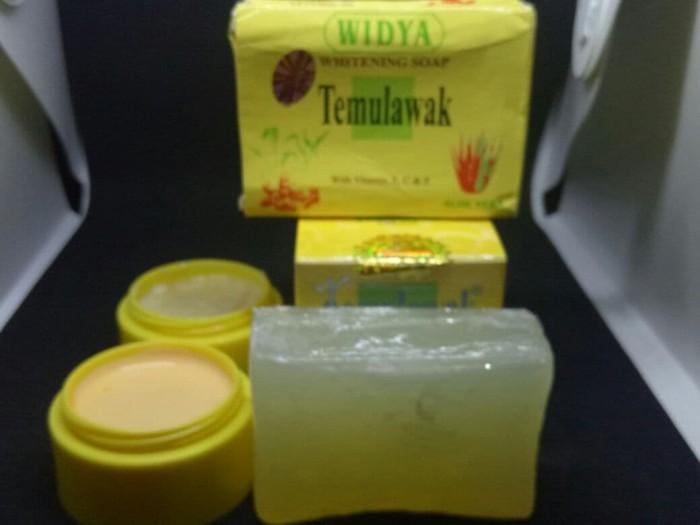 Temulawak Paket Cream Siang & Malam Plus Sabun Sedayu Kuning Original