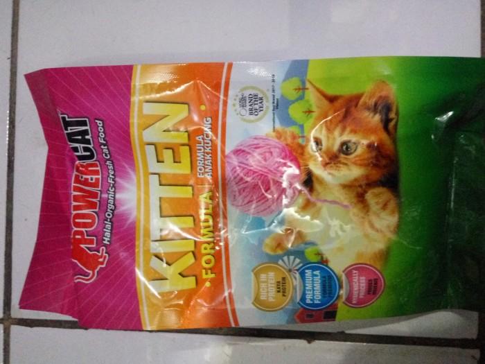 harga Makanan kucing premium power cat kitten anakan kucing 12 kg Tokopedia.com