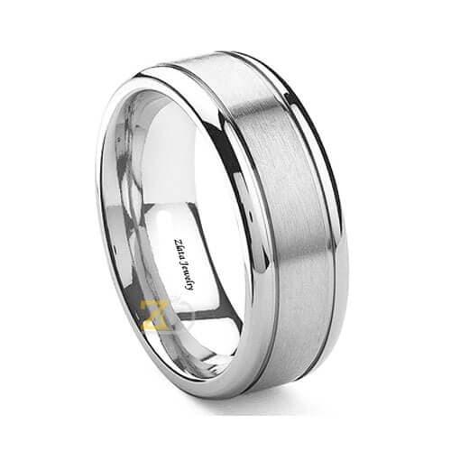 Jual Cincin Perak Pria Cincin Kawin Pria Perak 925 Simple Arsenio Kota Yogyakarta Zlata Silver Tokopedia