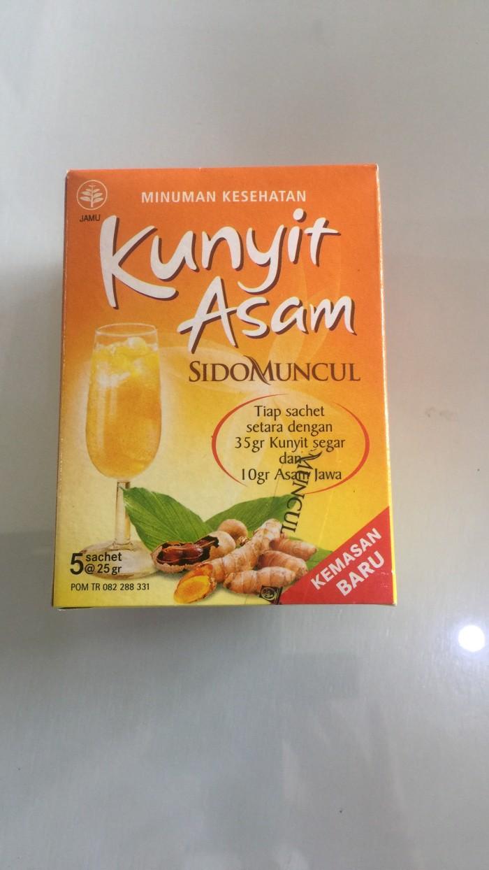 Jual Kunyit Asam Sidomuncul Isi 5 Jamu Herbal Kota Malang SEHATsejati