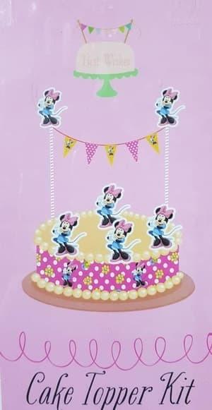 harga Topper cake minnie mouse/ hiasan kue minnie/ cake topper karakter Tokopedia.com