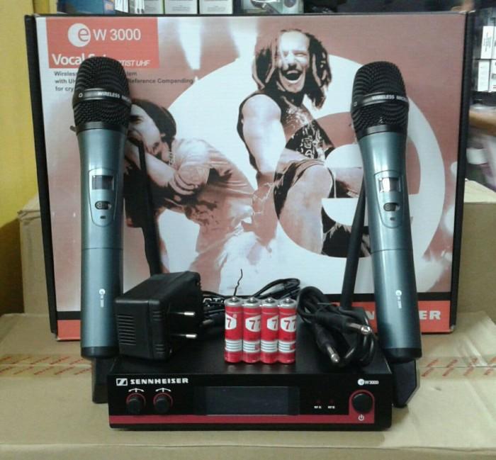 harga Mic wireless sennheiser ew 3000 microphone werles senheiser Tokopedia.com