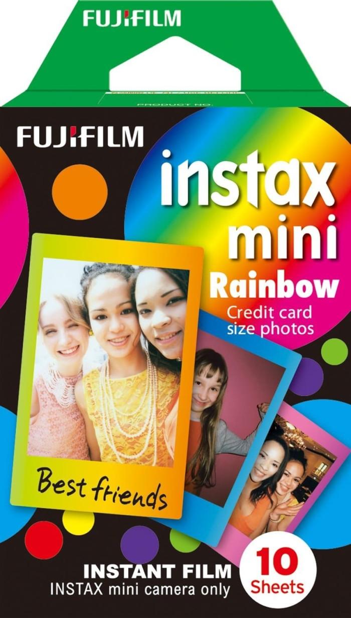 harga Refill instax mini instant film rainbow motif isi 10 lembar Tokopedia.com