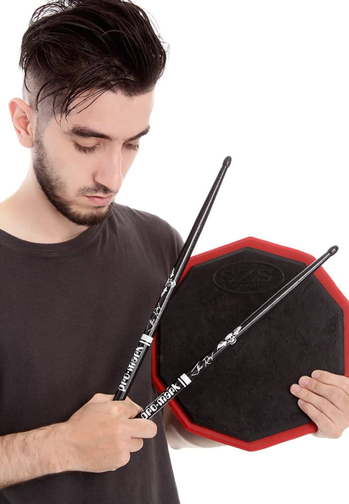 harga Szs drum pad classic black 11 inch dengan vcd lesson stand snare tidak Tokopedia.com