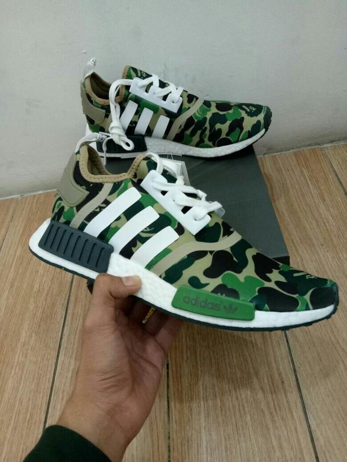 newest 88b77 53bde Jual Sepatu Adidas NMD R1 X Bape Camo Green Unauthorized Authentic - DKI  Jakarta - Tony Sneakers | Tokopedia