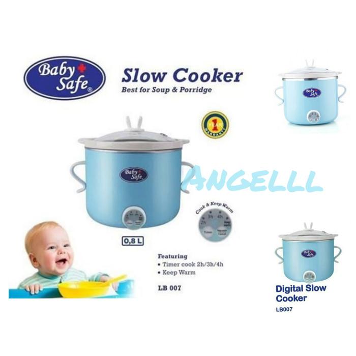 SLOW COOKER BABY SAFE DIGITAL LB007 baby safe slow cooker birudigital