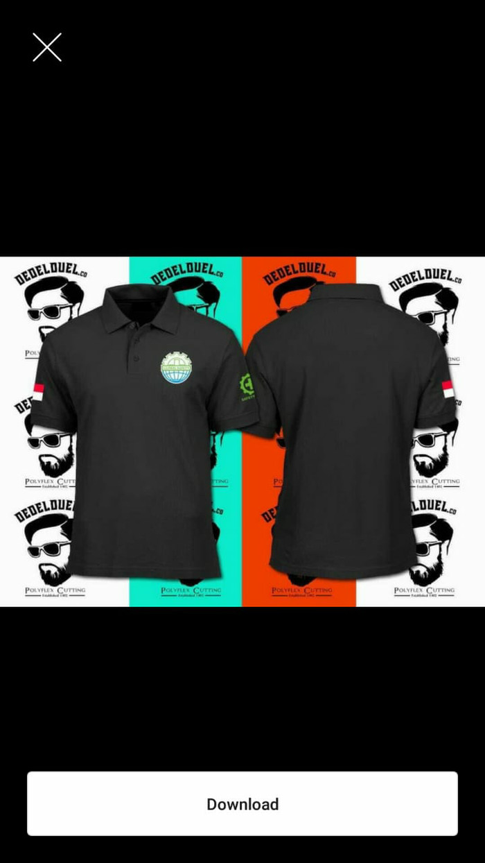 Jual Kaos Kerah Polo Shirt GLOBAL SAFETY Jakarta Timur Rejo Cloth