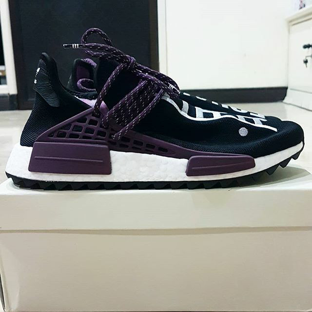 Pharrell x adidas Hu NMD Holi Pack Black Canvas | HYPEBAE