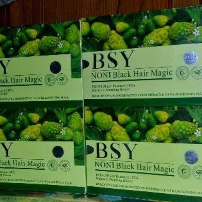 ... harga Shampoo bsy noni bpom/ bsy noni 3 holo/shampoo bsy black hair magic