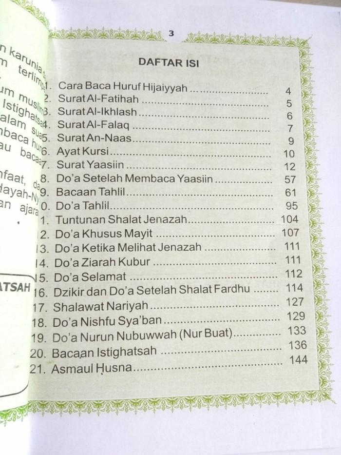 Jual Surat Yasin Tahlil Doa Nurbuat Dki Jakarta Toko Buku Deva Tokopedia