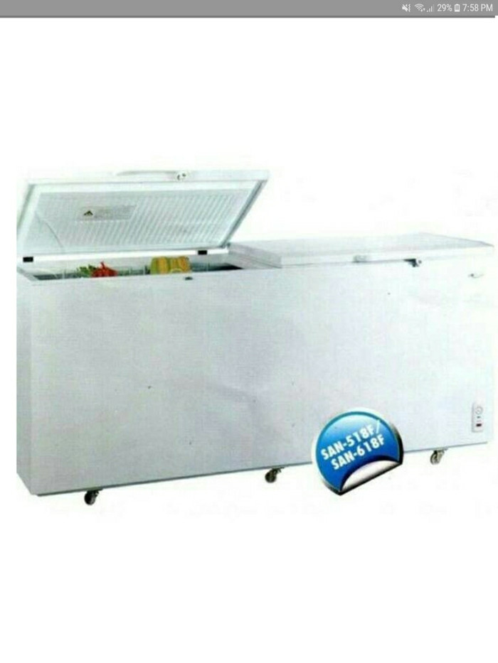 harga Chest freezer sansio san618f Tokopedia.com