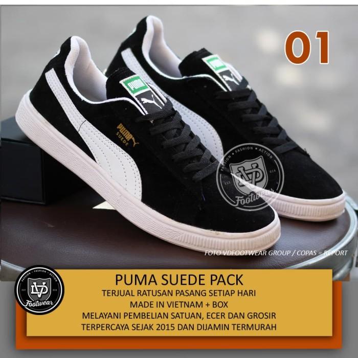 ... harga Sepatu puma suede terlaris snekaers skate vans dc adidas neo  Tokopedia.com b8cac9c761