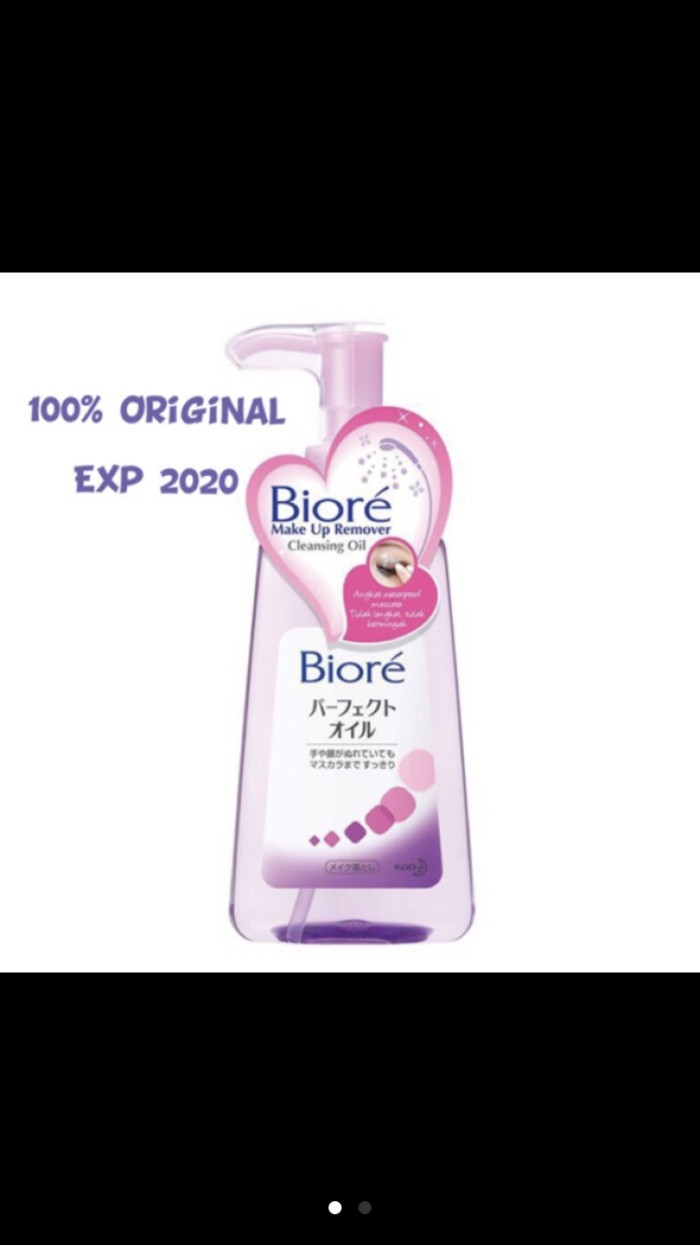 Jual Biore Cleansing Oil 150ml Kymmi House Tokopedia Make Up Remover