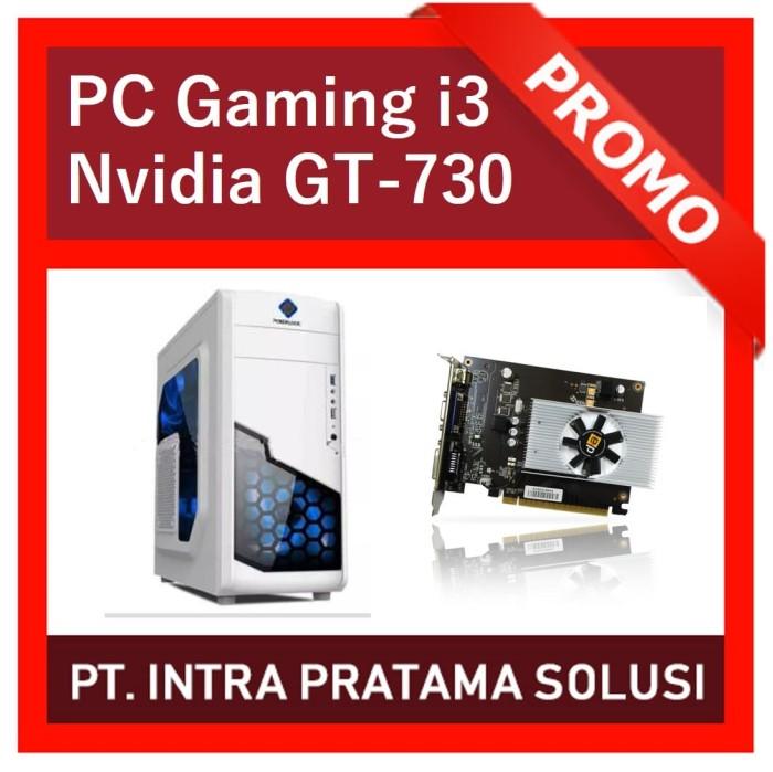 harga Pc core i3 + nvidia gt-730 for design / gaming Tokopedia.com