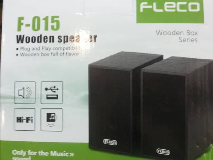 harga Speaker aktif fleco f-015 power usb Tokopedia.com